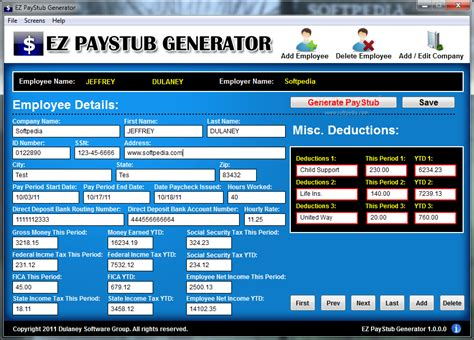 template generator free payroll application software newhairstylesformen2014 com