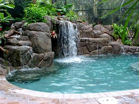 the simple home waterfall design ideas beautiful homes