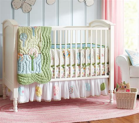 Crib Bedding Pottery Barn Pottery Barn Nursery Bedding Lines Dots And Curls