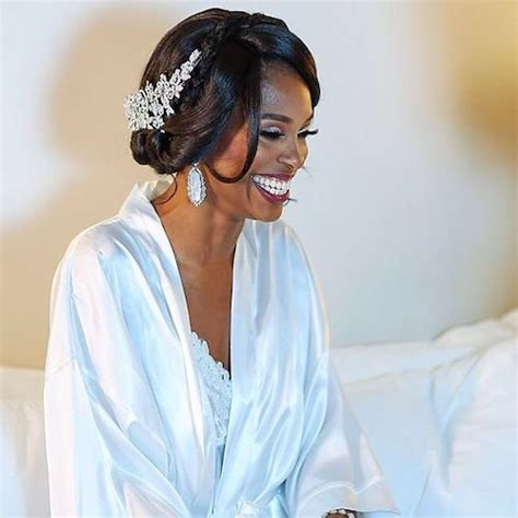 Wedding Black Hairstyles Updos by 41 Wedding Hairstyles For Black To Drool 2018