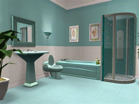 sims 3 bathroom ideas mod the sims teal bathroom
