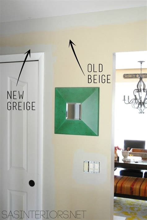 beige new greige paint color benjamin gallery buff on the walls of the foyer gt www