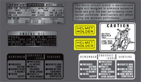 Sticker Honda 750 Four by Decals For 1973 75 Honda Cb750 K