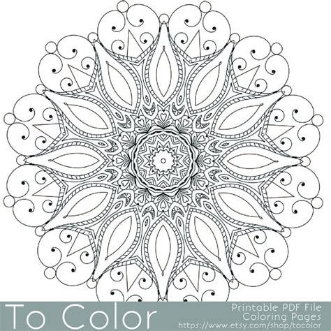 grown up coloring pages mandala intricate printable coloring pages for adults gel pens