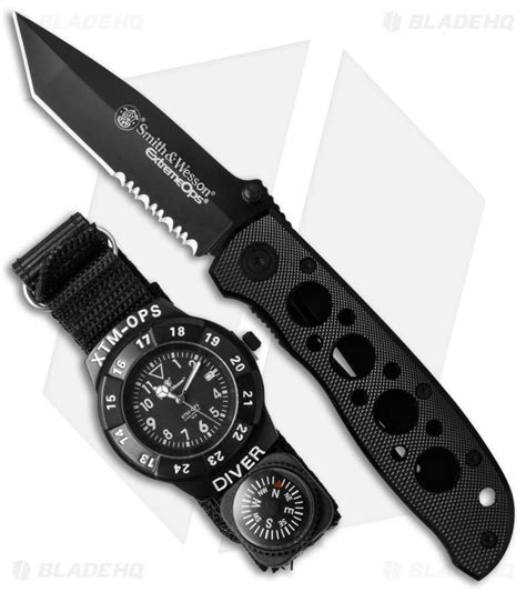 smith and wesson knife ops smith wesson ops knife combo set sw