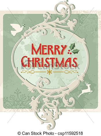 merry christmas retro sign merry christmas vintage sign  grunge background eps  vector