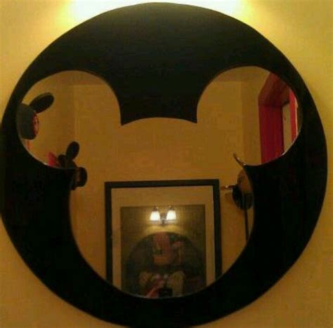 mickey mouse bathroom mirror my mickey mirror my husband and i did for my mickey