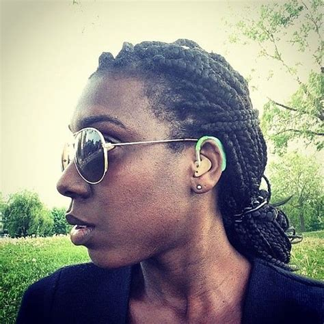 hair styles to cover hearing aids 7 best hearing with style images on pinterest hearing