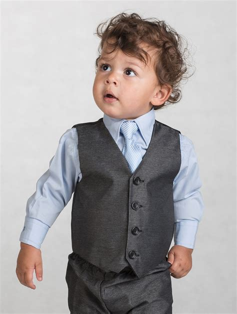 boys light blue suit grey suit light blue shirt dress yy