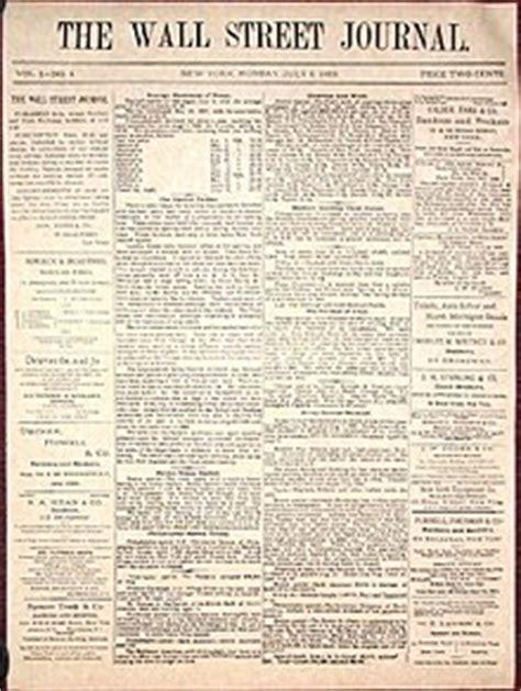wall street journal section c the wall street journal wikipedia