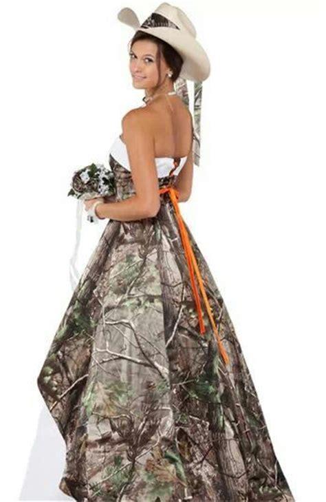 Longdress Melony camo wedding dress camoformal