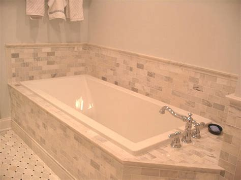 pictures of tile around bathtub bath remodeling scott mason contracting