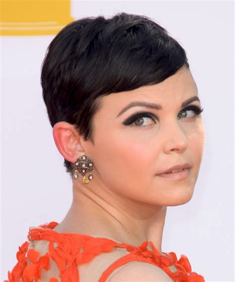 caucasions beliefs on short hair ginnifer goodwin short straight casual hairstyle with side