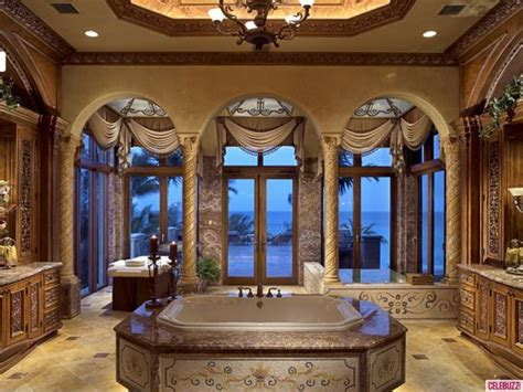 Mansion Bathrooms mansion bathrooms inside chris cline s beachfront mega