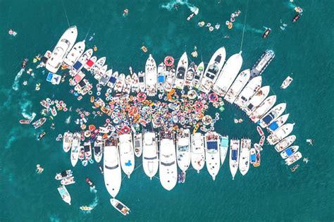 boten feest curacao gelijke opkomst fuikdag 2016