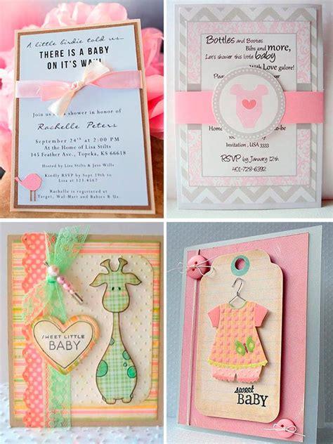 4 tipos de invitaciones para tu comuni 243 n marla comuniones tarjetas para baby shower nia modernas ideas para invitaciones de baby shower de ni 241 a