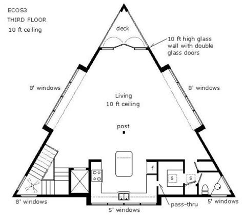 triangle floor plan ultramodern house designs
