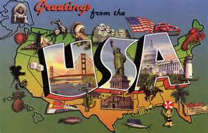 greetings from the usa large letter postcard flickr photo