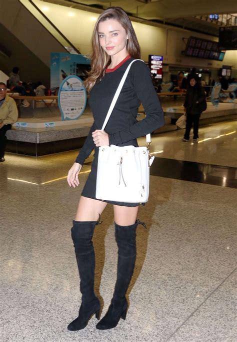 Dress Hongkong Mini Dress Dress Wanita miranda kerr in black mini dress 04 gotceleb