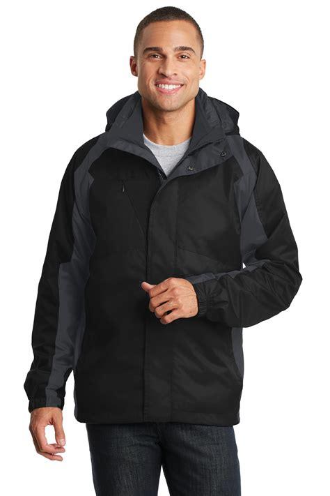 Ink Black Grey Polos Jacket Jaket Parasut Jaket Elegan port authority 174 ranger 3 in 1 jacket j310 aces