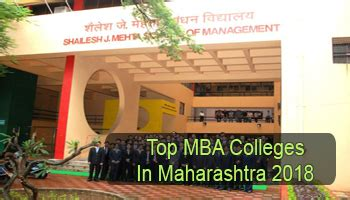 Best Mba Institute In by Top Mba Colleges In Maharashtra 2018 List Rating
