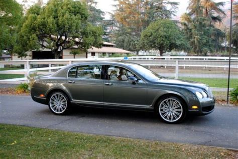 find used bentley flying spur extended warranty cover