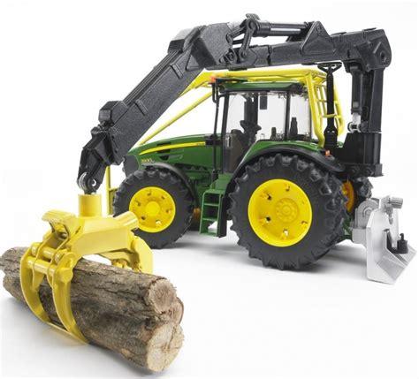 bruder farm toys bruder john deere 7930 forestry tractor 03053 farm toys