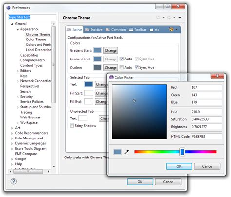 install theme eclipse juno ubuntu eclipse juno how to change tab color stack