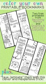 color your color your own printable bookmarks becoming martha