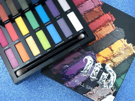 2 Die 4 Complete Makeup Palette by Decay Spectrum Eyeshadow Palette Review And
