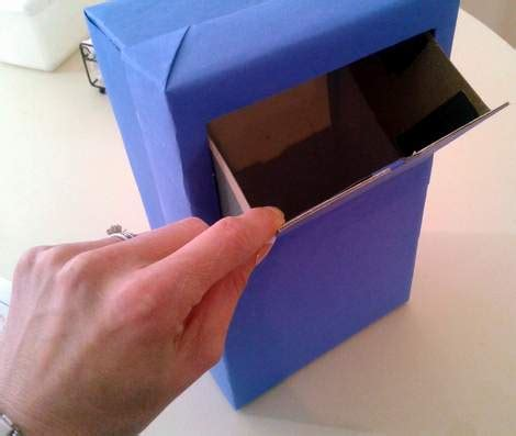 How To Make A Post Box Out Of Paper - you ve got mail box for valentine s day cclem