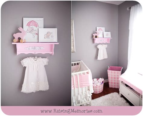 Princess Bedroom Decorating Ideas pink and gray baby girl nursery