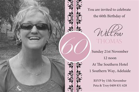 sle invitation for 60th birthday 60th birthday invites bagvania free printable invitation