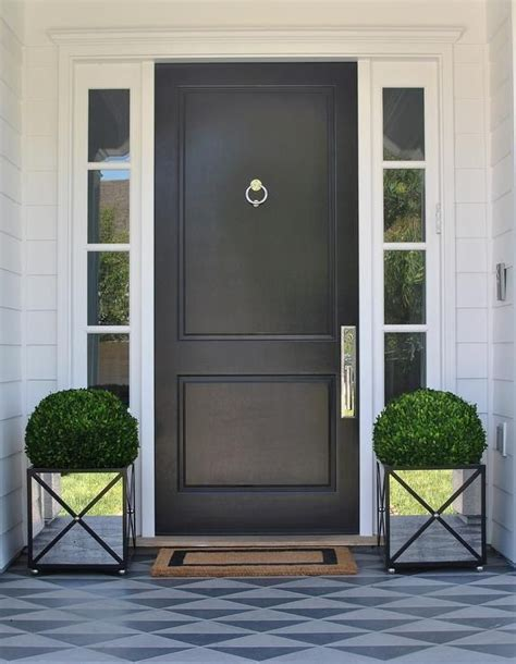 white front door 25 best ideas about black front doors on