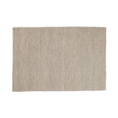 Cocoon Bed Linen - industry woollen rug in beige 200 x 300cm maisons du monde