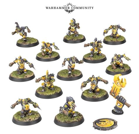 Who Let The Goblins Out Galacula And Rayd8 by New Blood Bowl Goblins Gw Made To Order Spikey Bits