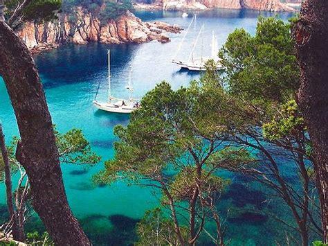 magical places spain aiguablava beach  costa brava hd