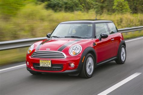 mini cooper hardtop makes edmunds top 17 cars you can buy