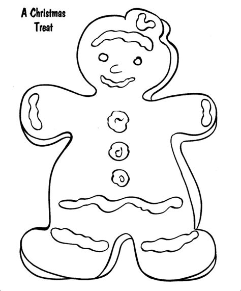 coloring pages christmas gingerbread man 15 gingerbread man templates colouring pages free
