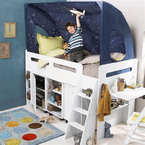 boys and bed 35 cool loft beds kidsomania