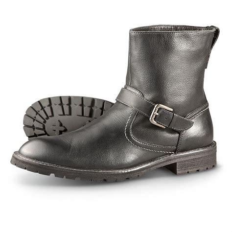 s florsheim 174 gadsen buckle boots black 231950