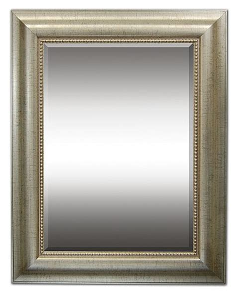 mirror frames custom decorative transitional wall mirrors