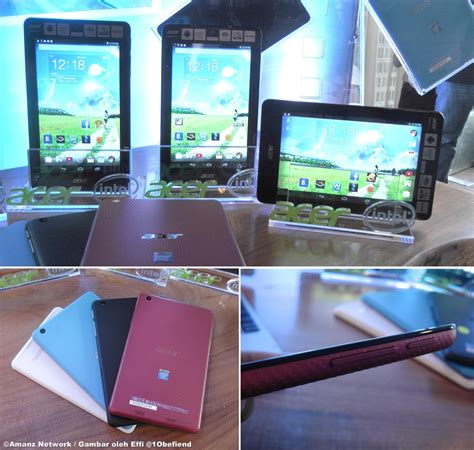 Pasaran Tablet Android acer memperkenalkan tablet android iconia one 7 dan iconia