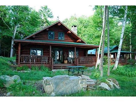 furnished log cabin real estate  sugar island