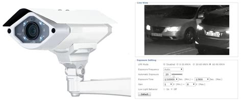 Cctv Zavio lpr mode license plate recognition zavio ip cameras