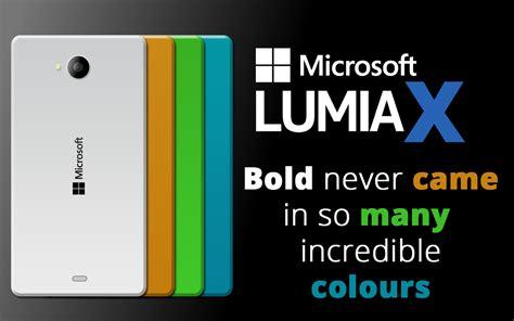 Nokia Lumia X by Microsoft Lumia X Flagship Imagined By Nick Ludgate