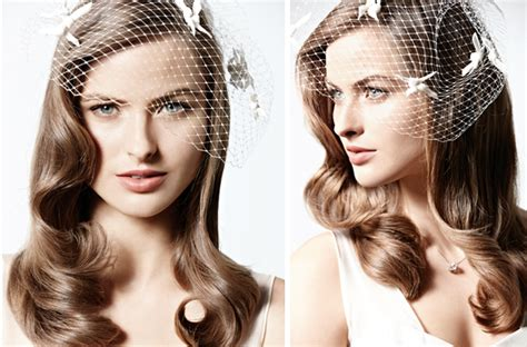wedding hairstyles all down vintage inspired wedding hairstyle all down waves with