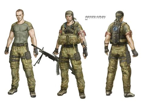 Characters Navy special character concept us navy seal sung wook