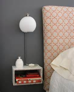 Nightstands For Small Bedroom Small Spaces Nightstand Rumah Minimalis