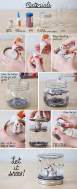 Let it snow how to make your own diy snow globe
